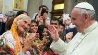 O papa Francisco e os Idosos